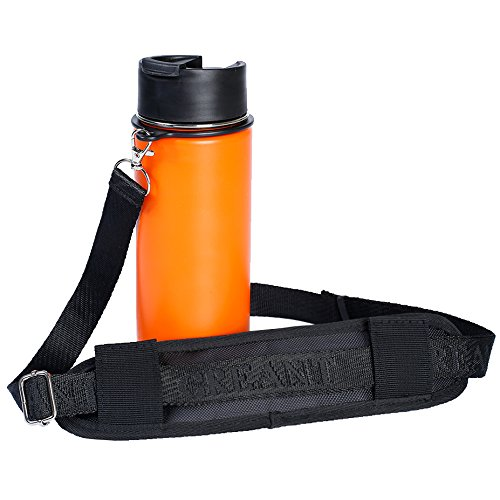 【GINGER掲載商品】 Greant水ボトルホルダーwithストラップパッドアクセサリー – ボトルキャリア – Pack Hydro フラスコハンドル – 肩ストラップfor Hydro Flask B075QB8ZCM Wide Mouth水ボトル、12、16、18、20、32、40、64オンス、1 - Pack ブラック B075QB8ZCM, 天然石 Stone Angel:2412acd8 --- a0267596.xsph.ru