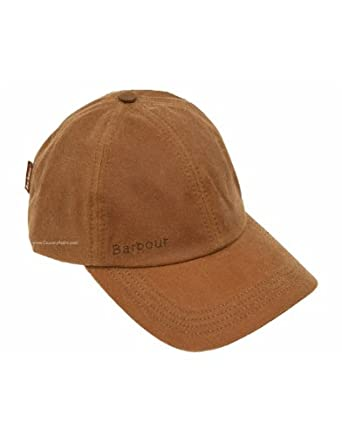 e1c0952c232 Barbour Wax Sports Cap - Sandstone MHA0005SN71 (H8040)  Amazon.co.uk   Clothing