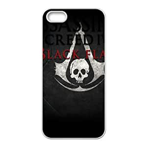 Assassins Creed Black Flag iPhone 4 4s Cell Phone Case White Umtwn