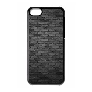 iPhone 5c Cell Phone Case Black Black wall Onfte