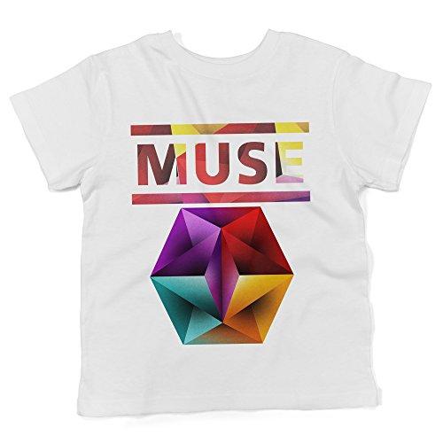 t-Shirt 100/% Baumwolle LaMAGLIERIA Damen-T-Shirt Muse