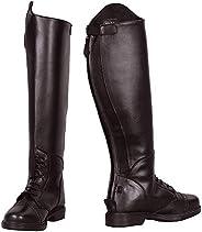 TuffRider Women's Starter Back Zip Field Boots in Synthetic Lea