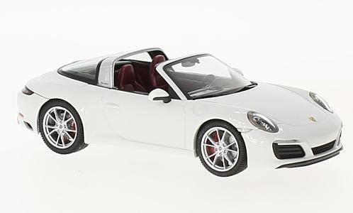 (Porsche 911 Targa 4S, white, 0, Model Car, Ready-made, Herpa 1:43)