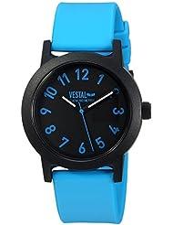 Vestal Alpha Bravo 10 ATM Quartz Plastic Casual Watch, Color:Blue (Model: ALP3P06)