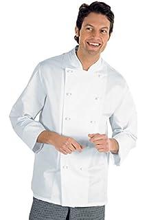 Isacco Giacca Cuoco Classica Bianco f1ba3ba54e0a