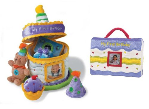 Baby Gund - My First Birthday Gift Set - Cake & Photo (My First Birthday Cake)