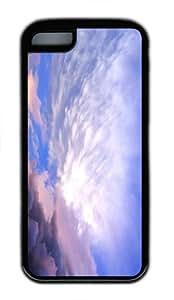 grove case sky clouds hd TPU Black Case for iphone 5C