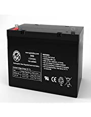 Pride Mobility SC713 Pursuit Heavy Duty 4 Wheel Scooter 12V 55Ah Wheelchair Battery - This is an AJC Brand Replacement