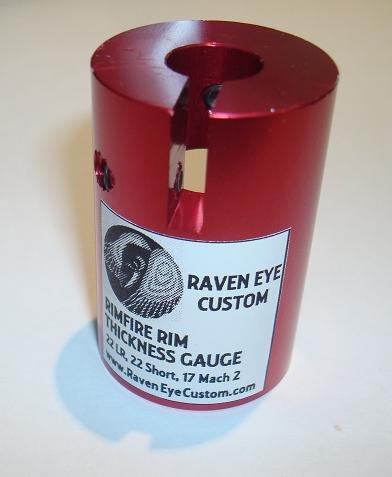 Raven Eye Custom Rimfire Rim Thickness Gauge for 22LR