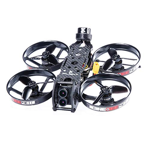 iFlight CineBee 4K Whoop FPV Racing Drone 2S Quadcopter PNP BNF Wheelbase 107mm SucceXMirco F4 Flight Tower Caddx.us Tarsier 4K 1200TVL Dual Lens HD Camera (BNF with Frsky R-XSR RX)