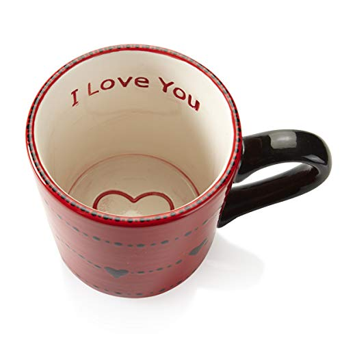 Paint Your Own Ceramic Keepsake Set of 2 I Love You /& Emoji Mug Set