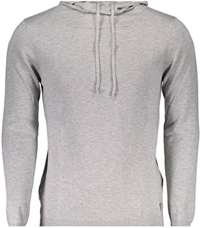 Guess Pullover Winter Jeans U74R06 Funnel Grau: Odzież