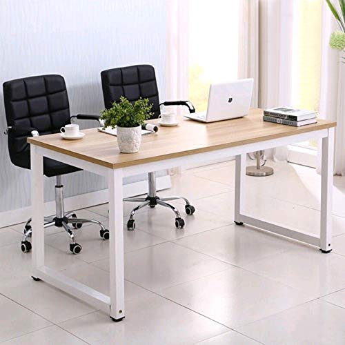Mecor Computer Desk PC Laptop Table Work-Station Home Office Furniture Wood (Office Home Wooden)