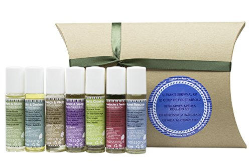 Naissance Aromatherapy Ultimate Survival Roll-On Pulse Points Gift Set