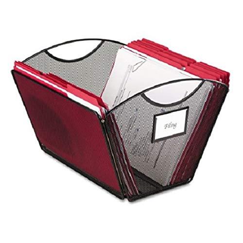 Onyx Mesh Desktop Tub File Storage Box, Letter, Black, Sold as 1 Each