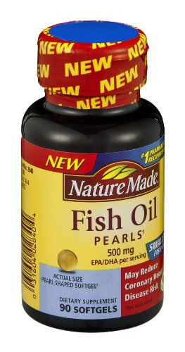Nature Made Fish Pearls Dietary Supplement Softgels , 90 CT