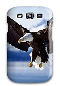 Awesome Case Cover/galaxy S3 Defender Case Cover(bald Eagle In Flight Alaska)