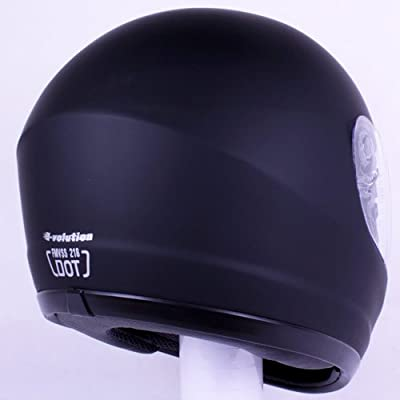 iv2 901 motorcycle helmet back.
