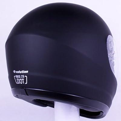 iv2 901 motorcycle helmet back.