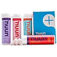 4 Pack Nuun Hydration Electrolyte Drink Tablets (Juicebox Mix)