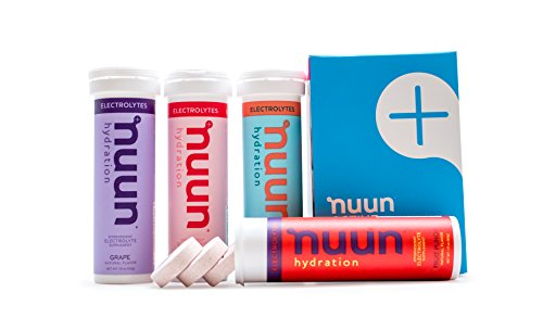 Nuun Hydration: Electrolyte Drink Tablets, Juicebox Mix, Box of 4 Tubes
