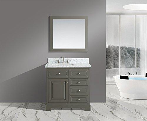UrbanFurnishing net Rochelle 36 Inch Bathroom Distressed