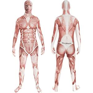 Muscle Morphsuit Mens Medium