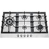 30 in. Stainless Steel Gas Cooktop with 5 Sealed Burners (850SLTX-E)