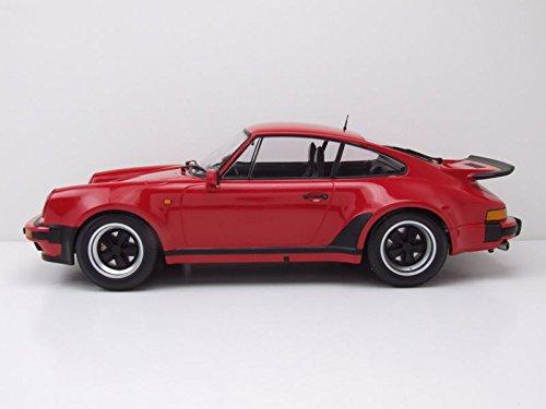 Minichamps - Porsche - 911 Turbo - 1977 Coche de ferrocarril de Collection, 125066115, Rojo Strawberry: Amazon.es: Juguetes y juegos