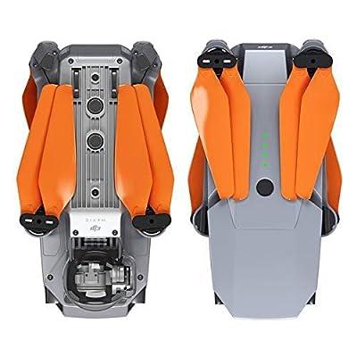 MAS Upgrade Propellers for DJI Mavic Pro & Pro Platinum in Orange - x4 in Set: Camera & Photo