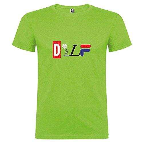 shirt By T Corta Verde Oasis color Manica Unisex Logo Mix Bikerella Dilf pHaqW8wa5