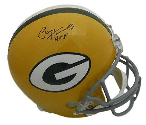 Paul Hornung Autographed Green Bay Packers Full Size Replica Helmet HOF (Paul Hornung Signed Helmet)