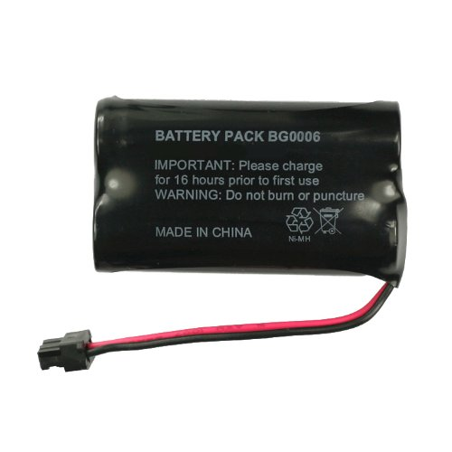 Cbc 206 Cordless Phone Battery - Fenzer Rechargeable Cordless Phone Battery for Lenmar CBC206 CBC-206 Cordless Telephone Battery Replacement Pack