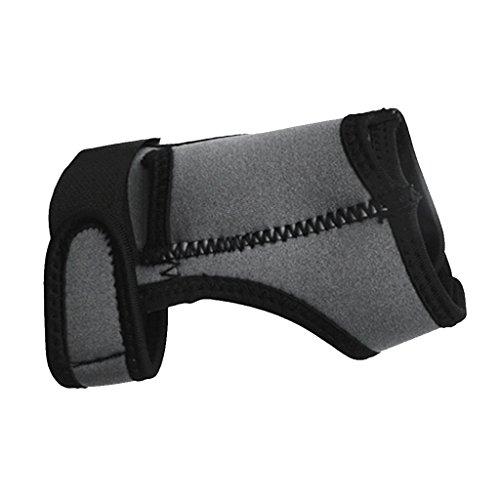 - SM SunniMix Universal Adjustable Light Holder - Hand and Arm Strap Soft Wrist Glove Mount for Dive Lights - Choice of Color - Grey