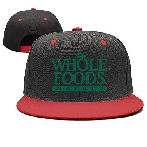 UONDLWHER Adjustable Unisex Whole-Foods-Market- Cap Twill Visor Hats