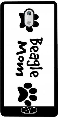 Funda de silicona para Nokia 3 - Madre Beagle by loki1982