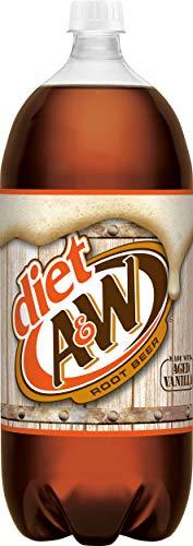 (Diet A&W Root Beer, 2 L bottle)