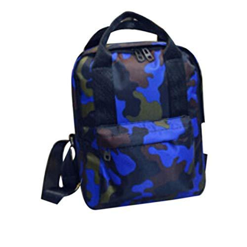 Amazon.com: UATECH Camouflage Rucksack Women Fashion Canvas Backpack for Students Harajuku School Bags for Women Mochila Lona#D11: Home & Kitchen
