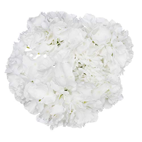 Royal Imports Hydrangea Flowers Artificial Fake Silk Bunch of 6 Heads for Bouquets, Weddings, Valentines, Wreaths, Crafts, -