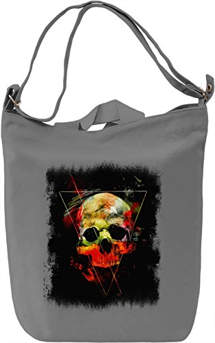 Skull Spirit Borsa Giornaliera Canvas Canvas Day Bag| 100% Premium Cotton Canvas| DTG Printing|