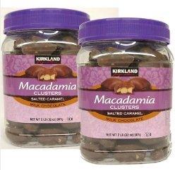 (kirkland Signature Macadamia Clusters 32 oz x 2)