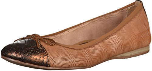 Tamaris WoMen 22129 Ballet Flats Nut