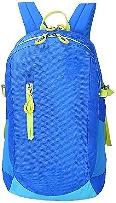 Nulijianchi1 Mochila De Gran Capacidad para Hombres Y Mujeres Bolsa De Deportes Al Aire Libre Mochila De Viaje Piel Bolsa De Camping Al por Mayor, Azul