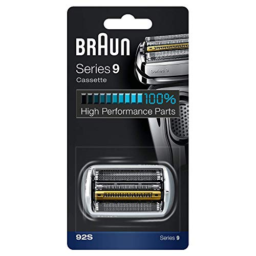 Braun 92S Series 9 Electric Shaver Replacement Foil and Cassette Cartridge - Silver
