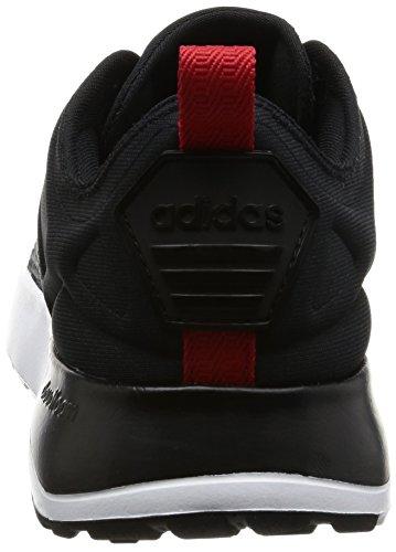 adidas Herren Sneaker CLOUDFOAM SUPER RACER dgh solid grey/core black/scarlet 41 1/3