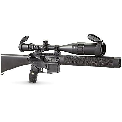 Sniper 6-24x50mm Tactical Rifle Scope Matte Black