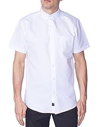 Mens Hawaiian Short Sleeve Slim Fit Printed Button Down Shirt