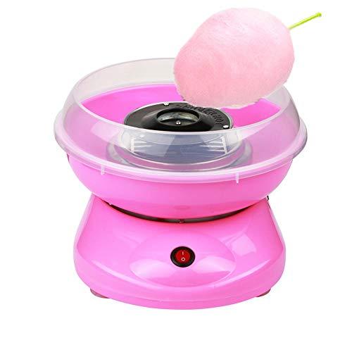 VANRA Cotton Candy Maker - Homemade Sugar, Sugar Free, Sugar Floss or Hard Candy Cotton Candy Machine (Pink)]()