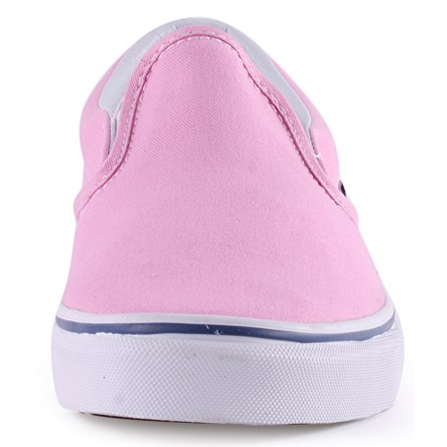 Vans Classic Slip On Womens Canvas Trainers Pink - 39 EU