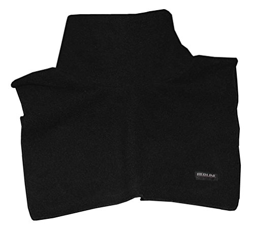 Chest Warmer (Redline Unisex Neck & Chest Warmer Gaiter, Soft Black Fleece 9001)